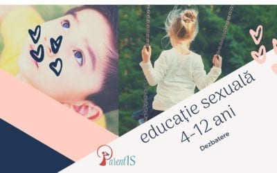 Educație sexuală 4-12 ani – 9 august 2019