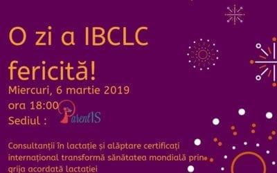 IBCLC Iași – ziua consultanței în lactație – 6 martie 2019