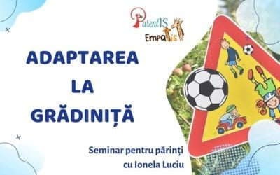 Adaptarea la gradiniță – 29 august 2019