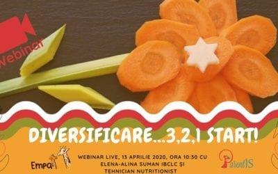 Diversificarea 3, 2, 1 Start! – 13 aprilie 2020