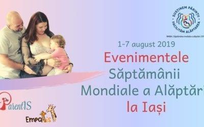 Săptămâna Mondială a alăptării la Iași – ediția a 8-a